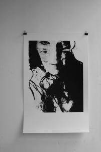 Witch craft, 2013. Zeefdruk. 125 x 150 cm.