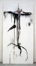 Scarecrow, 2010. Mixed media op multiplex. 122 x 244 cm.