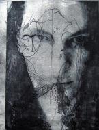 Sea Witch, 2012. Ets, fotopolymeer op papier. 50 x 80 cm.